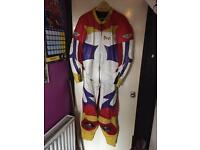 Motorcycle full leathers.