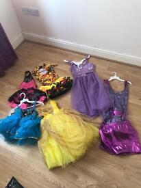Girls dance costumes