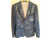 very rare Sheffield Wednesday Jacket worn for FA cup pre match. 1986