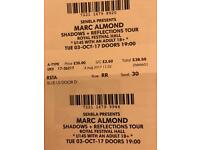 Marc Almond - Royal Festival Hall Tickets