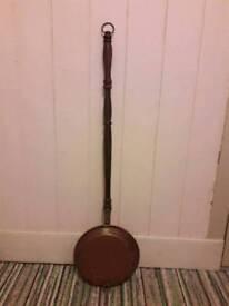 Vintage Copper Bed Pan