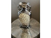 Silver Mille Vase Leonardo Range