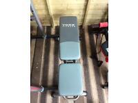 York fitness heavy duty weight bench