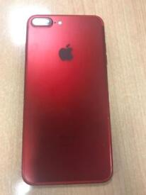 Red iPhone 7 plus Limited Edition 128gb