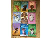 Collection of Holly Webs children's books