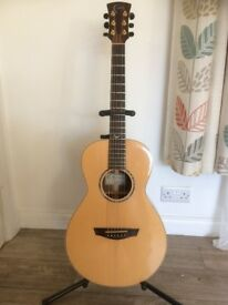 Faith Mercury HiGloss Electro-Acoustic Parlour Guitar