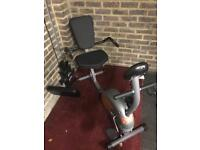 Exercise bike barely used