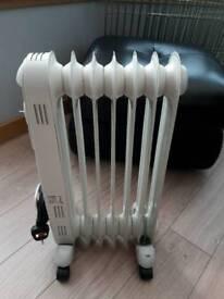 oil filled Hyundai heater.
