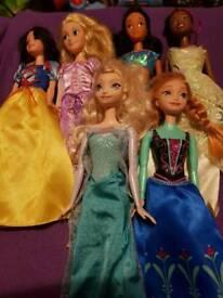 Disney Princess Dolls x 6 £15