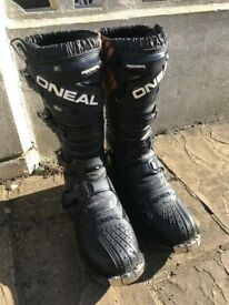 MX Boots Oneal Rider