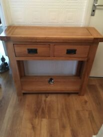 Console sideboard table