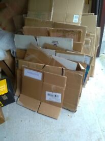 Cardboard Boxes for Storage or Removal.