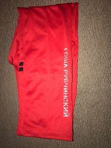 gosha rubchinskiy sergio tacchini trackpants szM red Carlton Melbourne City Preview