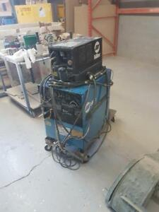 600 Volt Miller Welder with Cooler