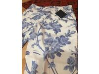 Formal floral trousers
