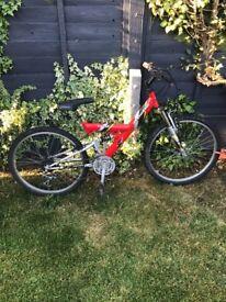 24 inch wheel mono shock bike