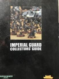 Warhammer Imperial Guard Collectors Guide