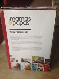 Mamas and Papas rocking lottie