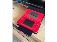 Red Nintendo DS Lite