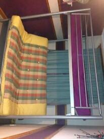 Metal bunk/sofa bed