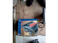 Electric wet tile cutter