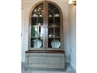 Quality Solid Wood Glass Display Sideboard Pantry Cabinet Cupboard Can Deliver