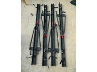 Set of 4 Roof Mounted Bike Carriers