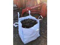 Fire wood🔥 Whiskey barrel hard wood and softwood mixed bags read description