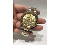 Rolex Sky Dweller 18k Gold & Steel