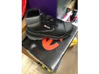 HECKEL ALPHA PRO safety footwear size 9