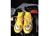 Nike football boots - size 6
