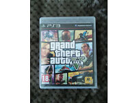 Grand Theft Auto V PS3 - MINT Condition - Map Included