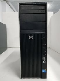 HP Z400 Xeon w3503 2.4GHz 4GB 1TB DVDRW tower computer workstation