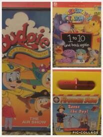 19 children's dvds