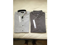 x2 burton shirts these are slim fit 38inch chest