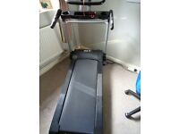 MTI treadmill ideal for heavy use maximum user weight of 23.6 stone