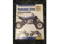 Yfz 450 Haynes manual