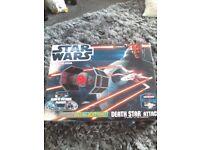 Star wars Death star Attack Scalextric.