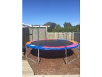 Trampoline: Plum 14ft Great condition