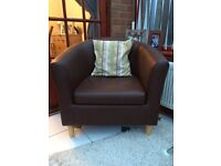 2 seater tub settee and tub chair