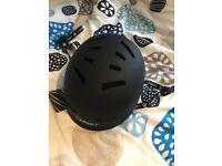 New Black Bicycle Helmet Size: S