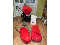 Bugaboo Bee Plus and accessories