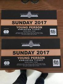 Festival of speed tickets
