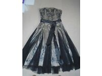Monsoon Evening Dress / Cocktail Dress / Ball Gown. Size 12. Excellent Condition £30 (Cost £85 new).