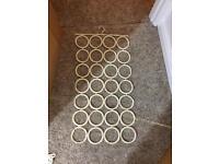 Scarves/ties/belt hanger x2
