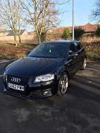 Audi A3 Sportback S-Tronic Black Edition 2012 (140PS)