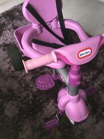 Purple girls trike