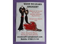 Private Spanish lessons in a comfortable home environment.