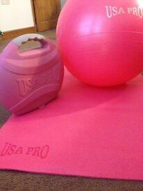 USA PRO pilates/yoga set