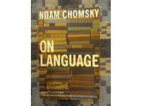 NOAM CHOMSKY ON LANGUAGE
